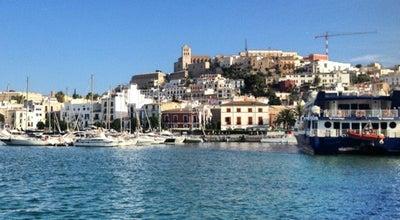 Photo of Harbor / Marina Port d'Eivissa / Puerto de Ibiza at Avinguda De Les Andanes, Eivissa 07800, Spain