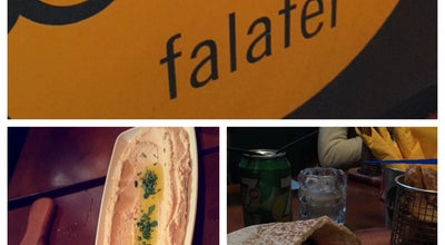 Photo of Middle Eastern Restaurant Umi Falafel at Callaghan House 13 Dame Street, Dublin, Ireland