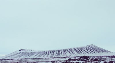 Photo of Volcano Hverfjall at Iceland