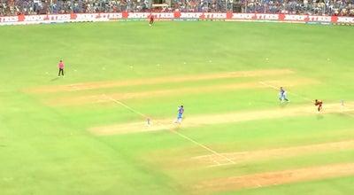 Photo of Cricket Ground Sachin Tendulkar Stand at Wankhede Stadium, Marine Dr., Mumbai, India