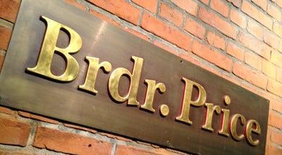 Photo of French Restaurant Restaurant Brdr. Price at Rosenborggade 15-17, Copenhagen 1130, Denmark
