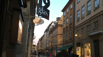 Photo of Modern European Restaurant 19 glas at 19 Stora Nygatan, Stockholm 111 27, Sweden