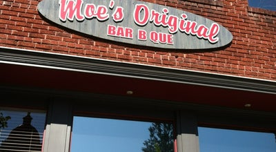 Photo of American Restaurant Moe's Original BBQ at 114 N Main St, Hendersonville, NC 28792, United States
