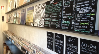 Photo of Coffee Shop Sort Kaffe og Vinyl at Skydebanegade 4, København V 1709, Denmark