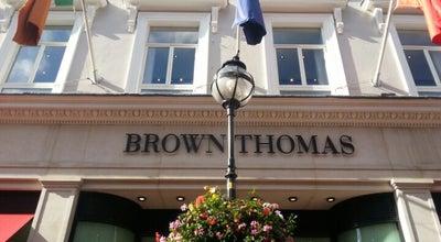 Photo of Department Store Brown Thomas at Grafton Street, Dublin 2, Ireland