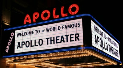Photo of Theater Apollo Theater at 253 W 125th St, New York, NY 10027, United States