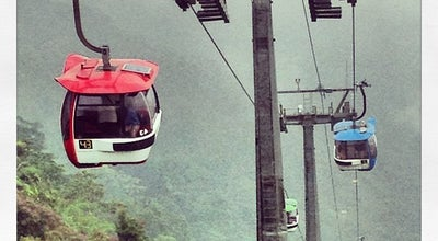 Photo of Mountain Sky Train - Genting Highland Resort - at Malaysia