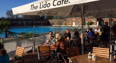 Photo of Cafe The Lido Cafe at Brockwell Lido, London SE24 0PA, United Kingdom