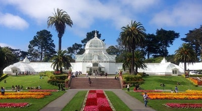 Photo of Botanical Garden Conservatory of Flowers at John F. Kennedy Drive, San Francisco, CA 94118, United States