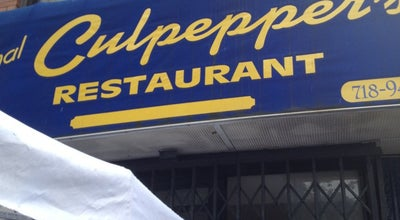 Photo of Restaurant Culpeppers at 1082 Nostrand Ave, Brooklyn, NY 11225, United States