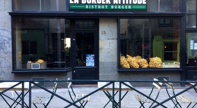 Photo of French Restaurant La Burger Attitude at 13 Rue Saint Malo, Rennes 35000, France
