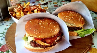 Photo of Burger Joint Fontaine Delisnack at A. Briāna 9a, Rīga LV-1001, Latvia