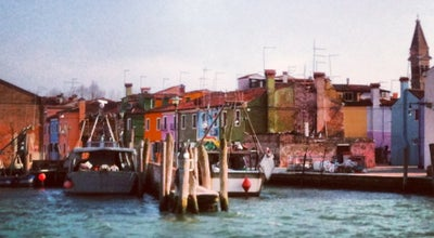 Photo of Pier Imbarcadero ACTV Burano at Via Marcello, Venezia 30142, Italy