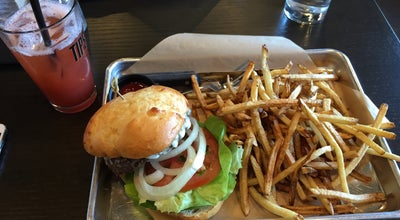 Photo of American Restaurant Tipsy Cow Burger Bar at 16345 Cleveland St, Redmond, WA 98052, United States