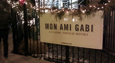 Photo of French Restaurant Mon Ami Gabi at 2300 N Lincoln Park W, Chicago, IL 60614, United States