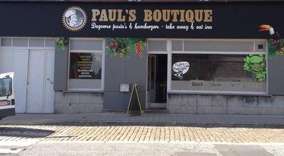 Photo of American Restaurant Paul's Boutique at Sint-amandstraat 48, Ghent 9000, Belgium
