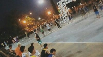 Photo of Basketball Court สนามบาสทุ่งศรีเมือง at Thailand