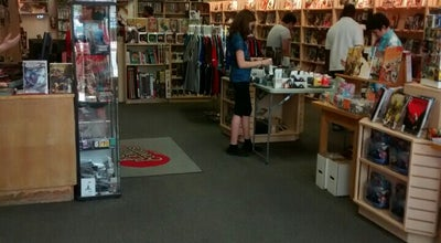 Photo of Bookstore Big Planet Comics at 7315 Baltimore Ave, College Park, MD 20740, United States