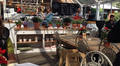 Photo of Cafe The Quince Tree cafe at Clifton Nurseries at 5a Clifton Villas, London W9 2PH, United Kingdom