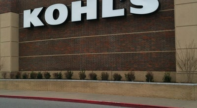 Photo of Department Store Kohl's at 3575 N Shiloh Dr, Fayetteville, AR 72703