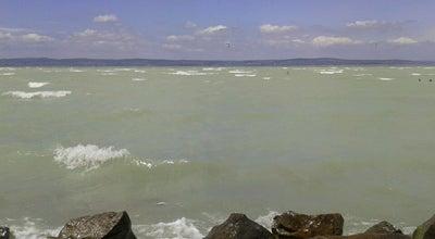 Photo of Beach Siófok Újhelyi strand at Siófok, Hungary