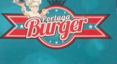 Photo of Burger Joint Portuga Burger at Av Portugal, 397a, Mauá, Brazil
