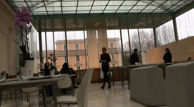 Photo of Italian Restaurant Antonello Colonna at Via Milano 9a, Rome 00184, Italy