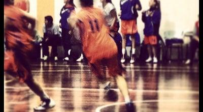 Photo of Basketball Court Κλειστό Γυμναστήριο Αμύντας at Ymittos, Greece