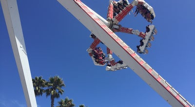 Photo of Theme Park Fireball at Santa Cruz Beach Boardwalk, Santa Cruz, CA 95060, United States