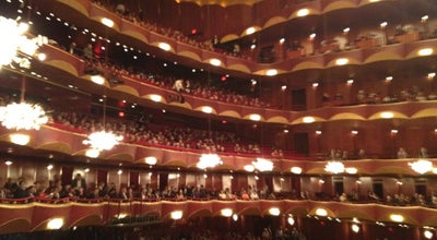 Photo of Performing Arts Venue The Metropolitan Opera at West 62nd Street, New York City, NY 10023, United States