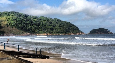 Photo of Beach Praia do Guaiúba at R. Estrela Do Mar, Guarujá, Brazil