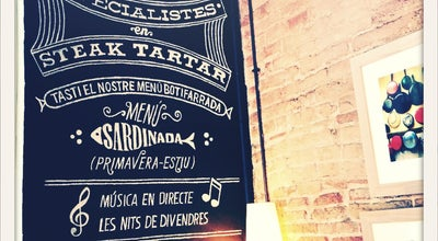 Photo of Mediterranean Restaurant La Tertulia at Calle Morales 15, Barcelona 08029, Spain