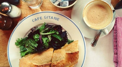 Photo of French Restaurant Cafe Gitane at The Jane Hotel at 113 Jane St, New York, NY 10014, United States