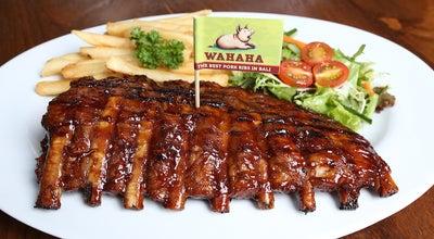 Photo of Restaurant Warung Wahaha at Jl. Sunset Road Barat 1689, Seminyak 80361, Indonesia
