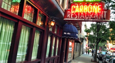 Photo of Italian Restaurant Carbone at 181 Thompson St, New York City, NY 10012, United States