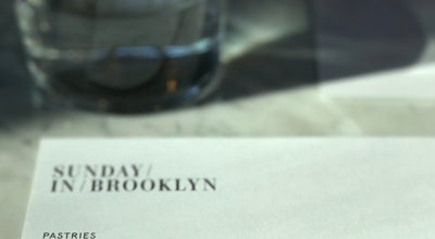 Photo of New American Restaurant Sunday In Brooklyn at 348 Wythe Ave, Brooklyn, NY 11249, United States