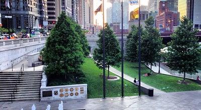 Photo of Monument / Landmark Vietnam Veterans Fountain at 35 East Wacker Dr, Chicago, IL 60601, United States