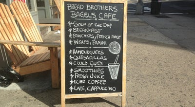 Photo of Cafe Bread Brothers Bagel Cafe at 220 Bushwick Ave, Brooklyn, NY 11206, United States