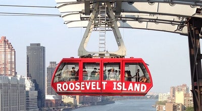 Photo of Tram Roosevelt Island Tram (Roosevelt Island Station) at Roosevelt Island, New York, NY 10044, United States