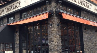 Photo of American Restaurant The District at 1679 3rd Ave, New York, NY 10128, United States