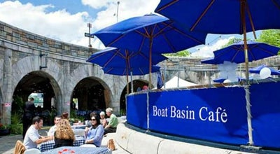 Photo of American Restaurant Boat Basin Cafe at W 79th St, New York City, NY 10024, United States