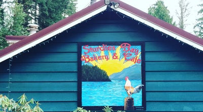 Photo of Cafe Sturdies Bay Bakery and Cafe at 2540 Sturdies Bay Road, Galiano Island, Canada