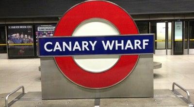Photo of Subway Canary Wharf London Underground Station at Heron Quays Rd, Canary Wharf E14 4HJ, United Kingdom
