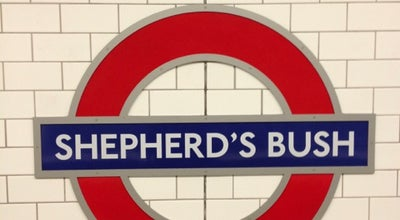 Photo of Subway Shepherd's Bush London Underground Station at Holland Park Roundabout, London W12 8ND, United Kingdom