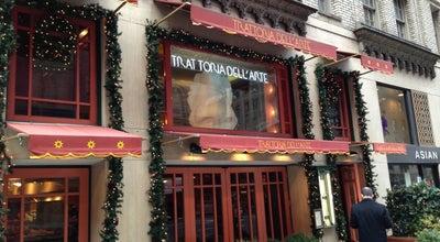 Photo of Italian Restaurant Trattoria Dell'Arte at 900 7th Ave, New York, NY 10019, United States