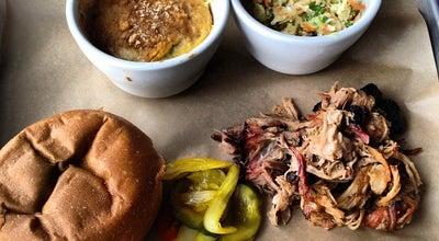 Photo of American Restaurant Pulaski Heights BBQ at 675 Pulaski St, Athens, GA 30601, United States