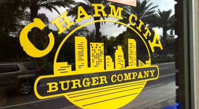 Photo of American Restaurant Charm City Burger Company at 1136 E Hillsboro Blvd, Deerfield Beach, FL 33441, United States