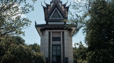Photo of Historic Site Choeung Ek Genocidal Center at Phnom Penh, Cambodia