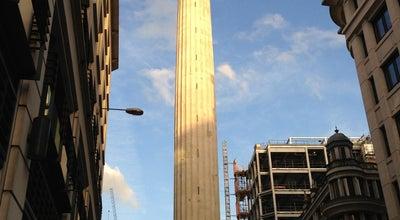 Photo of Monument / Landmark The Monument at Monument St, London EC3R 8AH, United Kingdom