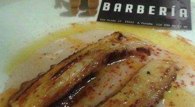 Photo of Mediterranean Restaurant Barberia at Rua Orzan 15, La Coruna 15001, Spain